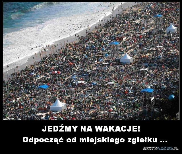 Wakacje nad polskim morzem ;)