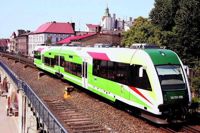 Estakada kolejowa w Gorzowie