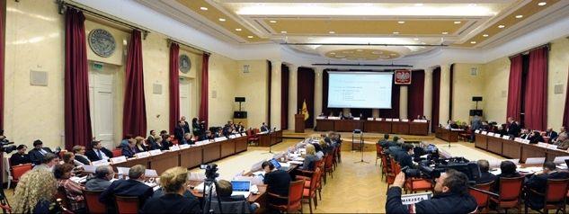 Nadzwyczajna sesja Rady Warszawy