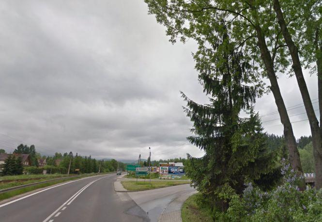"""""""Zakopianka"""" w Poroninie, fot. Google Maps"""