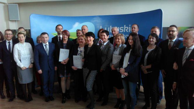 Przyznanie umów na dofinansowanie w ramach RPO Lubuskie 2020