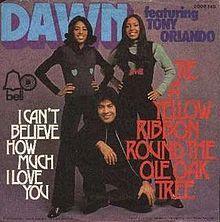 Tie A Yellow Ribbon - Tony Orlando & Dawn